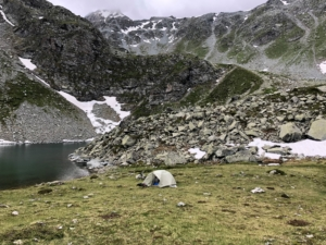 Trek in the Swiss Alps
